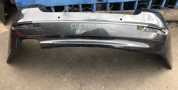 51127331596 BMW 5 Series 2015 F10 Rear standard Bumper