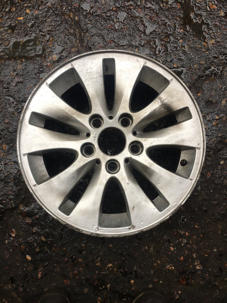 6779786 BMW 1 SERIES E81 E82 V-SPOKE ALLOY WHEEL 229 SINGLE  6.6Jx 16inch
