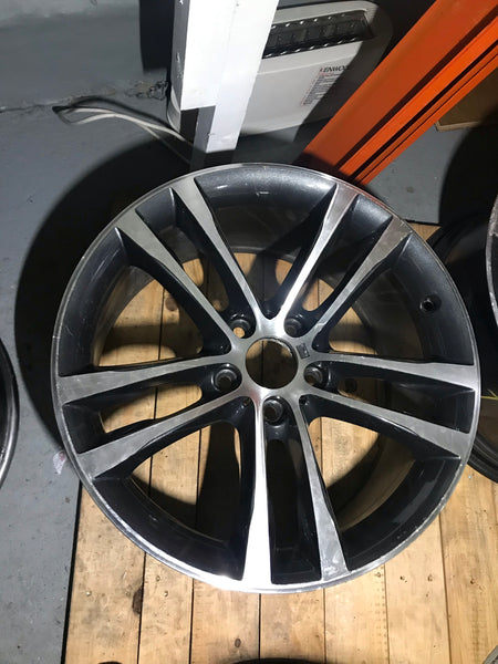 Bmw 3series f34 gt 19''' alloy wheel 9j rear la m double spoke 598 single 7847544