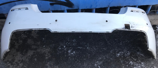 BMW 5 SERIES 2016  F10 M SPORT REAR BUMPER 51127906324 Md BT. Condition is Used.