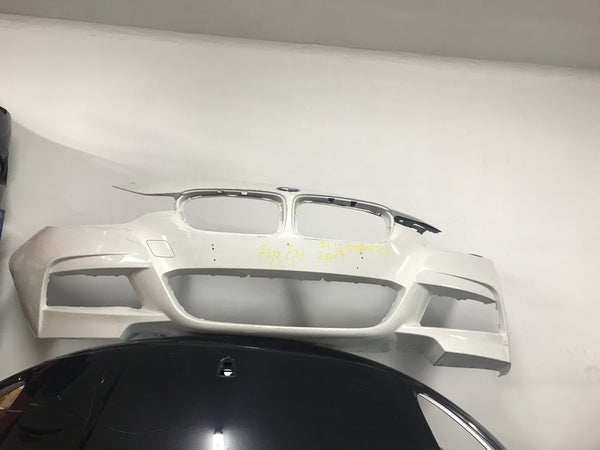 51118067873 bmw 3 series 2015 f30 front m-sport bumper needs respray