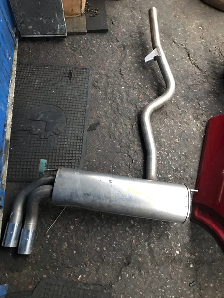 8578011  BMW 3 Series 2016 330i F30 Rear back box  Exhaust