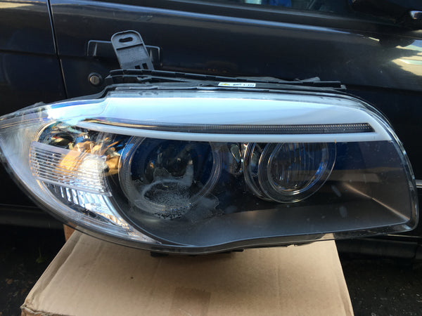 BMW 1SERIES 2013 DRIVER SIDE XENON HEAD LIGHT NO BALLAST