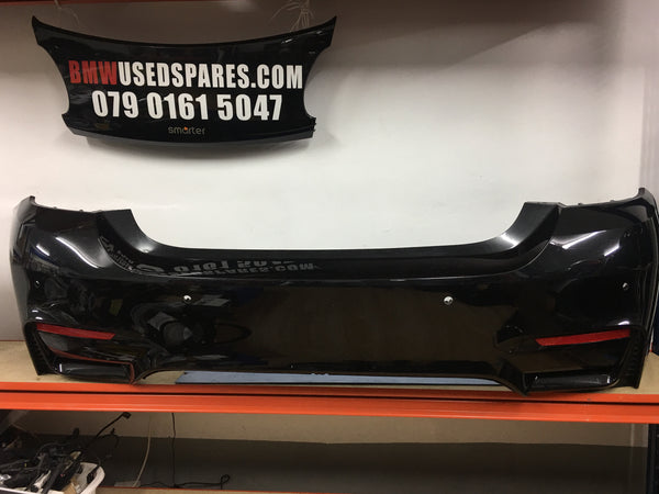 51128054284 BMW M4 2017 F82 Rear bumper May need a Respray p.d.c holes, Reflectors holes No Diffuser