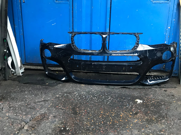 51118056874 BMW X3 2018 F25 M-sport front bumper.Needs respray