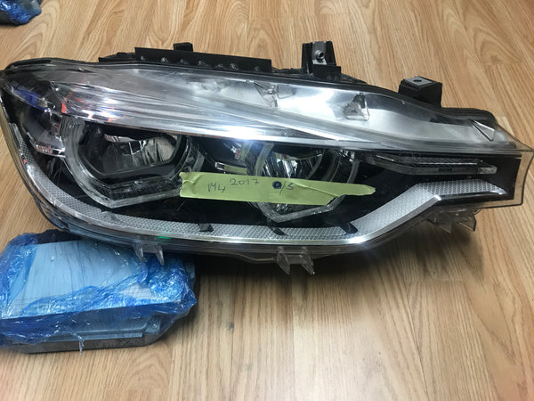 7498948 BMW 3 Series 2017 F30 driver side led Headlght