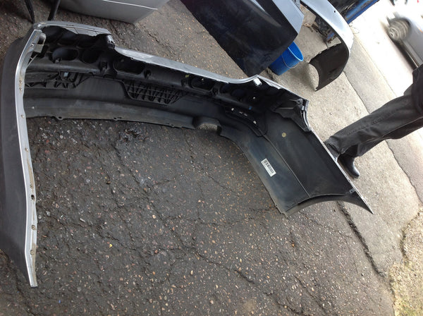 BMW 5 series e60 2007 Rear standard bumper in silver needs RESPRAY 51127178174