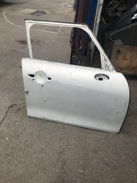 Mini 2018 f55 Driver side front door in silver