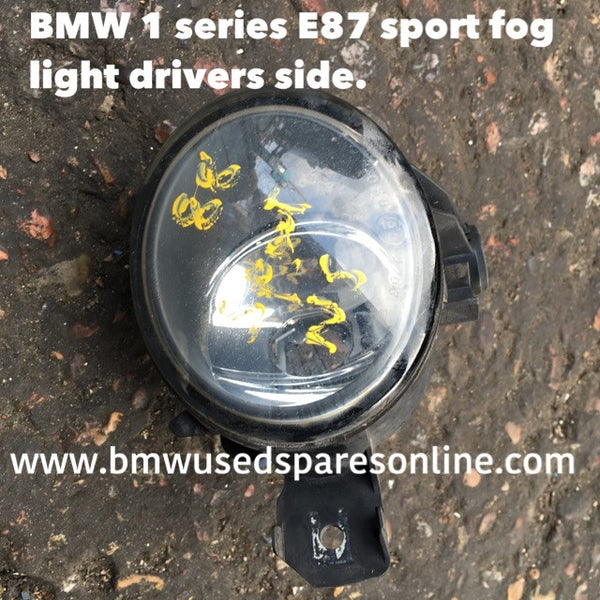 BMW 1 SERIES E 87 SPORT FOG LIGHT DRIVER SIDE 63176924655