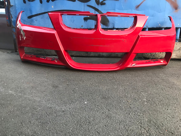 Bmw 3 Series 2008 E90 front M-sports front bumper no washer jets no sensor holes