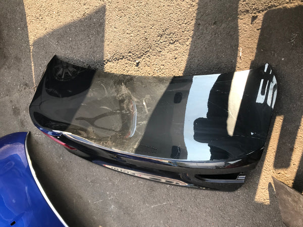BMW 3 Series 2017 Rear boot in black needs