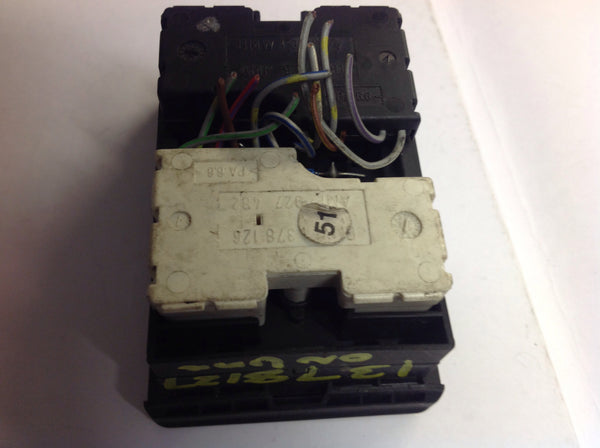 1378127 BMW 5-Series e34 master power window switch amp927