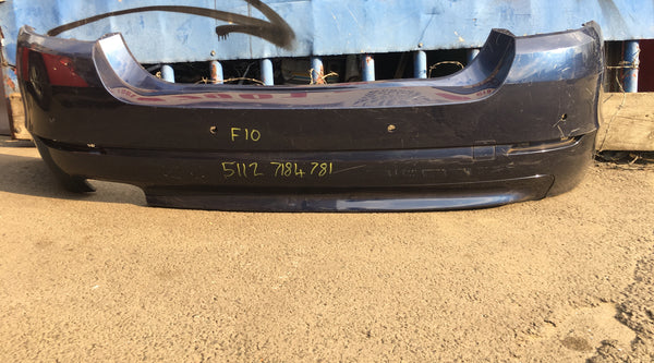 51127184781 BMW 5 Series 2013 F10 rear standard bumper