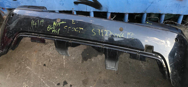 51127896618 BMW 5 Series 2008 E60. Rear M-sport bumper