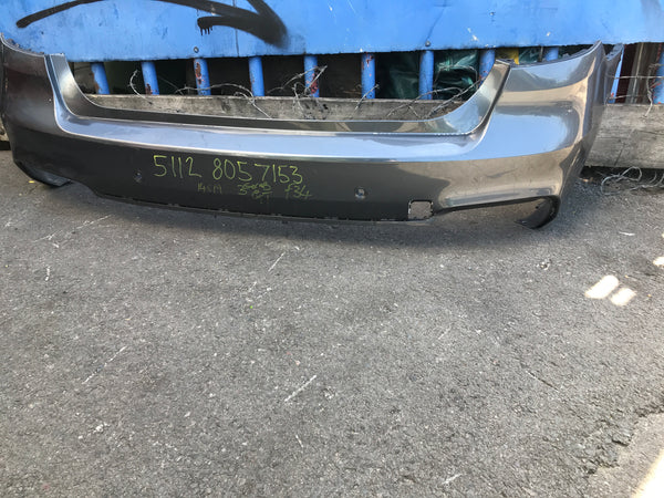 51128057153 Bmw 3 Series GT 2015 Rear M-sport Bumper