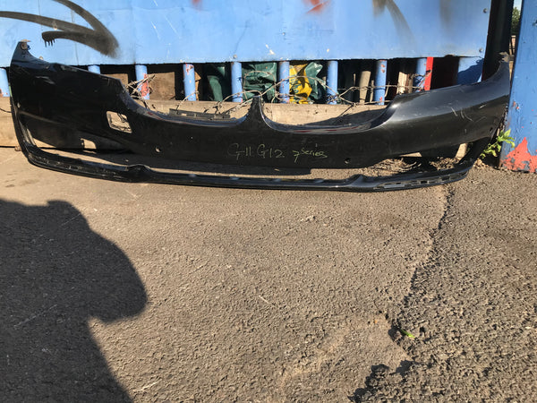 BMW 7 Series 2018 G11 G13 Front Bumper with parking sensor holes