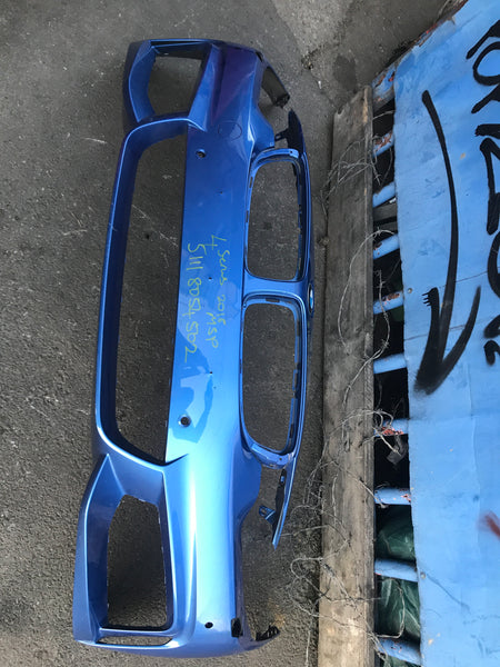 Bmw 4 Series 2015 f32 f33 F36 Front m-sport Bumper with sensor holes and washer jet holes