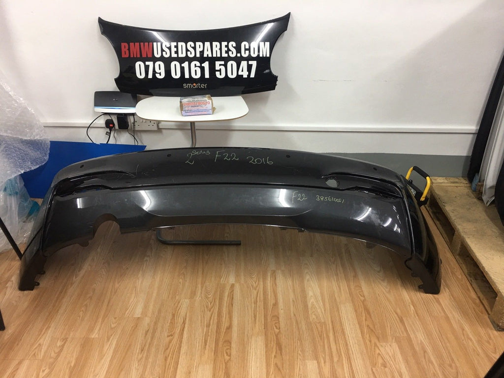 GENUINE-BMW-2-SERIES-F22-COUPE-M-SPORT-2016-ONWARDS-REAR-BUMPER-385610001
