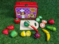 Fruit Cutting Set in Tin