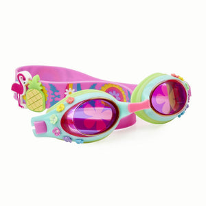 Let's Flamingle Swimming Goggles Bling2o