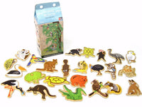 Australian Animal Magnets in Milk Carton