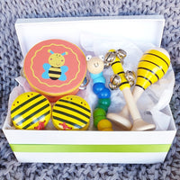 Bumble Bee Musical Wooden Toy Gift Box