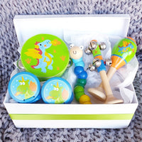 Dragon Musical Wooden Toy Gift Box
