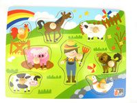 Farm Animal Wooden Puzzle