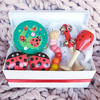 Lady Beetle Musical Wooden Toy Gift Box