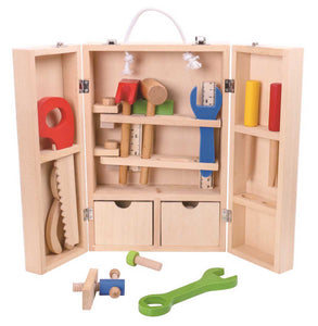 tool set carpenter wooden allebasi toys