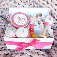 Unicorn Musical Wooden Toy Gift Box