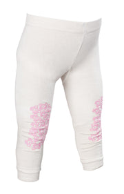 TIGHTS BAMBUS Antiskli  Beige/rosa