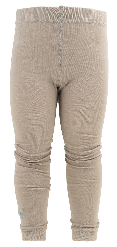 TIGHTS Bambus Beige/lys blå