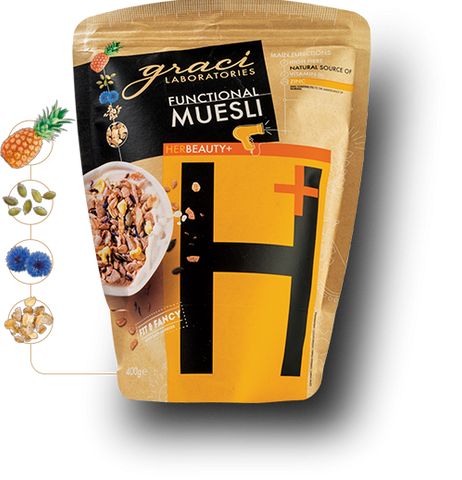 "FUNCTIONAL MUESLI GRACI ""HER BEAUTY"""