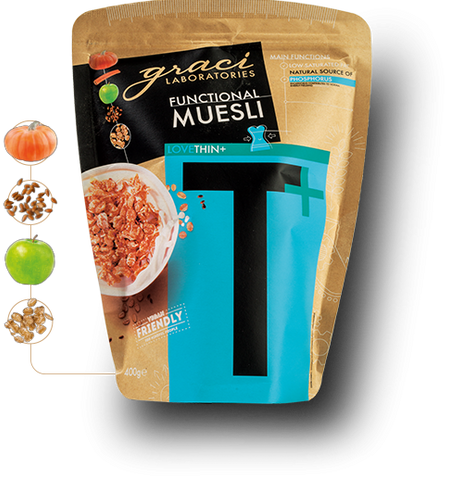 "FUNCTIONAL MUESLI GRACI ""THIN"""