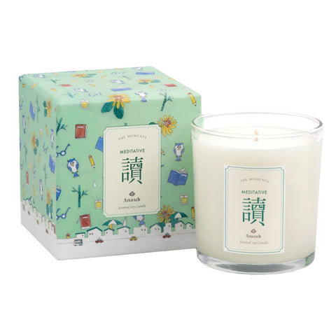 Meditative Scented Soy Candle . 讀