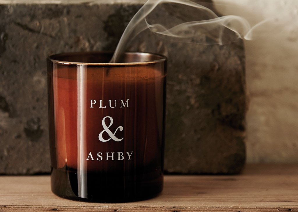 Coming Soon Candles from Plum & Ashby