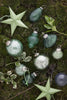 Christmas Tree Decorations in Pale Green