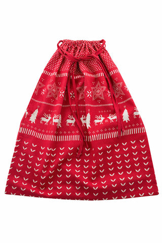 Red Christmas Jumper Sack