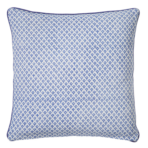 Blue Meena Print Cushion