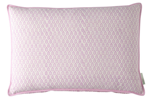 Pink Neem Print Cushion