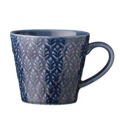 Neem Ceramic Mug in Dark Blue