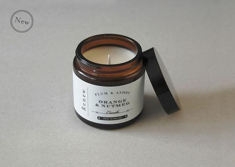 Plum & Ashby Advent Renew Travel Candle - Orange & Nutmeg