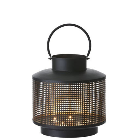 contemporary black metal lantern