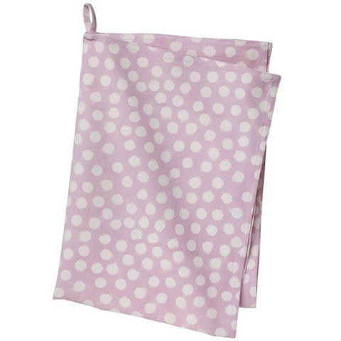 Pink Rose Bindu Tea Towel