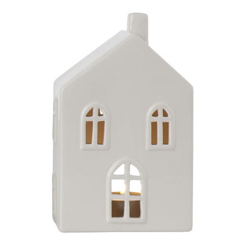 Cream Medium Ceramic House