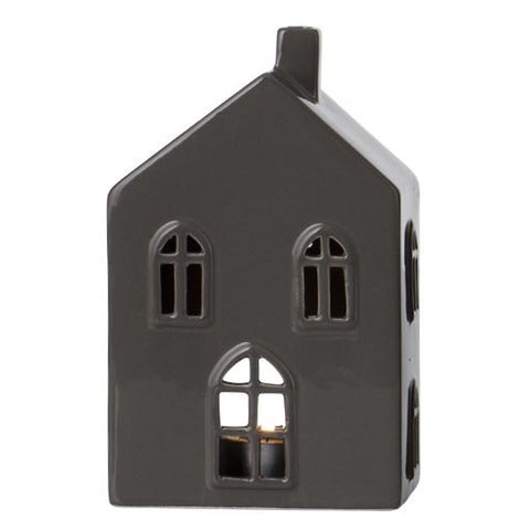 Slate Grey Medium Ceramic House