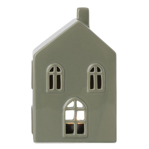 Dusty Mint Medium Ceramic House