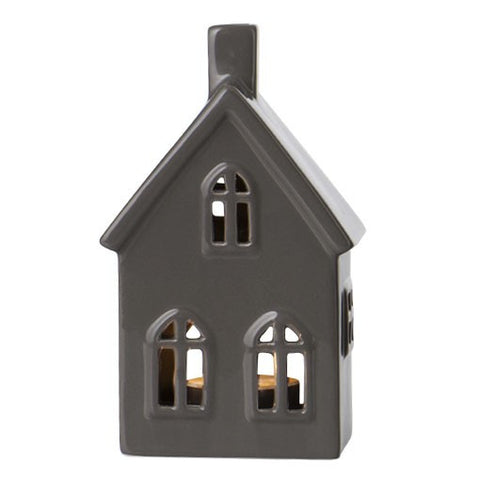 Slate Grey Small Ceramic House