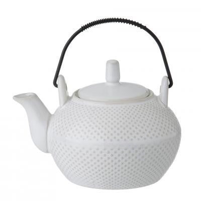 White Noa Tea Pot